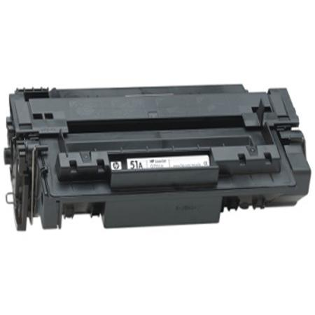 Compatible Black HP 51A Micr Toner Cartridge (Replaces HP Q7551AMICR) - Made in USA