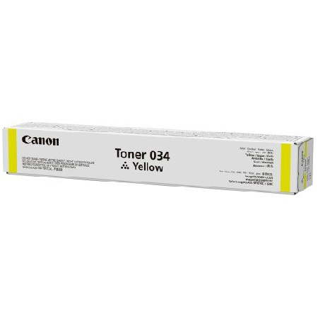 Canon 034 Yellow Original Toner Cartridge (9451B001)