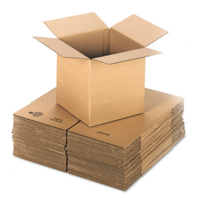 Universal Corrugated Kraft Shipping Carton 12w x 12l x 12h Brown 25 per Pack