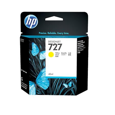 HP 727 Yellow Original Standard Capacity Ink Cartridge
