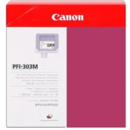Canon PFI-303M Original Magenta Ink Cartridge