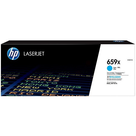 HP 659X (W2011X) Cyan Original High Capacity Toner Cartridge