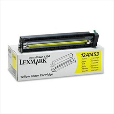 Lexmark 12A1453 Original Yellow Toner Cartridge