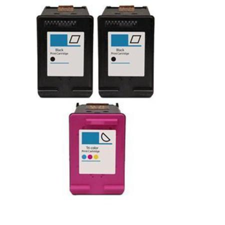 60XL Full Set + 1 EXTRA Black Remanufactured Inks