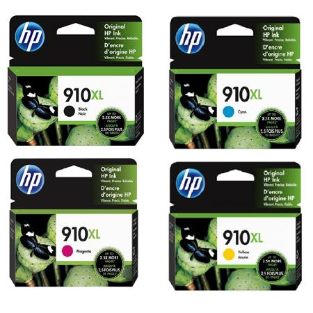 HP 910XL Full Set High Capacity Original Inks