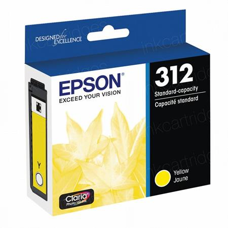 Epson 312 (T312420) Yellow Original Standard Capacity Ink Cartridge