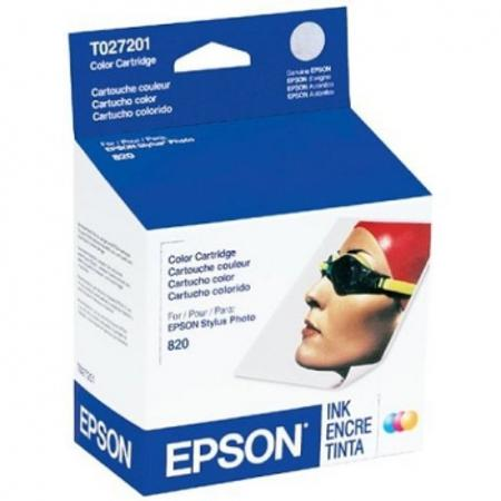 Epson T027 (T027201) 5 Original Color Ink Cartridge
