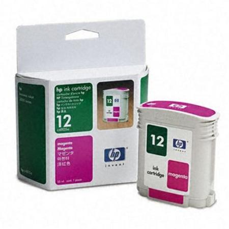 HP 12 Magenta Original Ink Cartridge (C4805A)