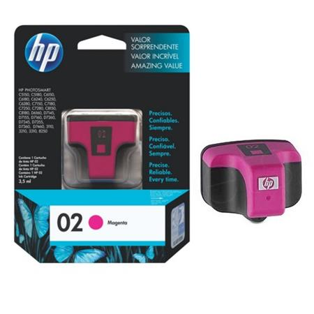 HP 02 Magenta Original Ink Print Cartridge (C8772WN)