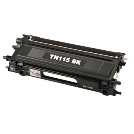 Brother TN115BK Remanufactured Black Laser Toner Cartridge