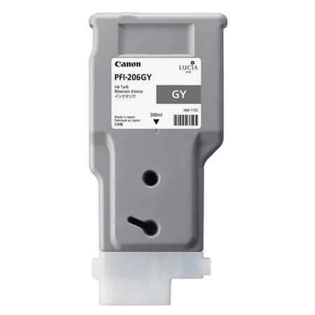 Canon PFI-206GY (5312B001AA) Grey Original Ink Cartridge