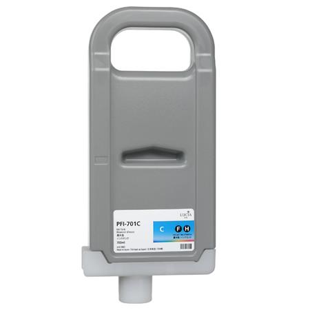 Compatible Cyan Canon PFI-701C Ink Cartridge (Replaces Canon 0901B001AA)