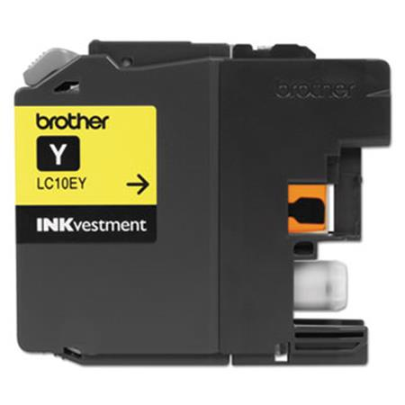 Brother LC10EY Yellow Original Print Cartridge