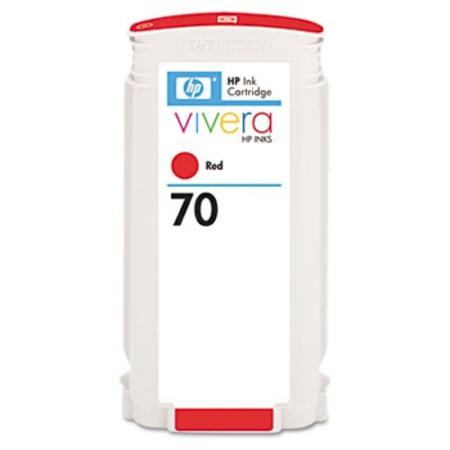 HP 70 Remanufactured Red Ink Cartridge (C9456A)
