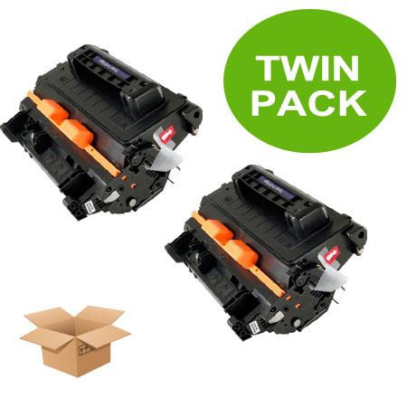 Clickinks 81A Black Remanufactured Toner Cartridges Twin Pack