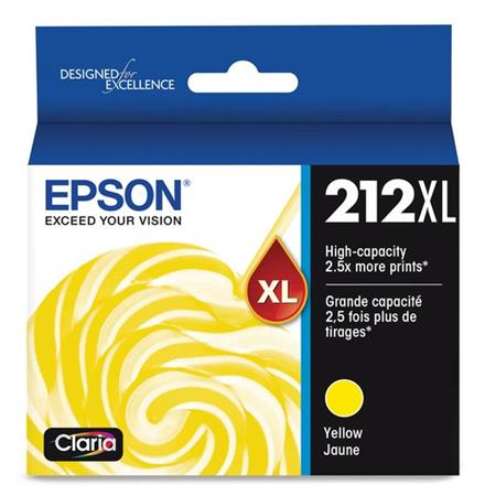 Epson 212XL (T212XL320) Yellow Original High Capacity Ink Cartridge