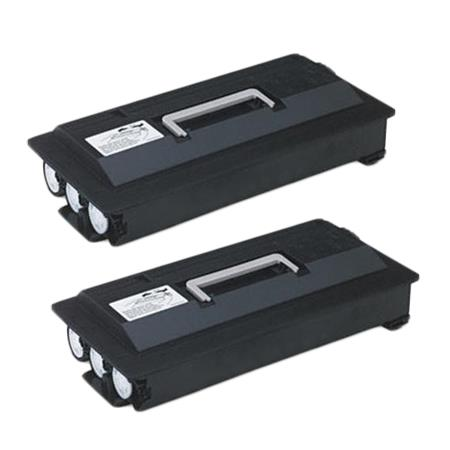 TK-423 Black Remanufactured Toners Twin Pack