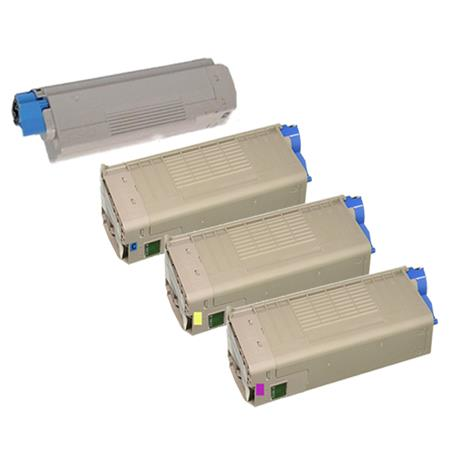 46507601/46507604 Full Set Original Toner Cartridges