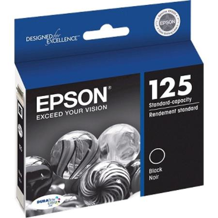 Epson 125 Black Original Standard Capacity Ink Cartridge