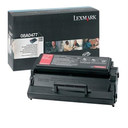 Lexmark 08A0477 Original Black High Yield Toner Cartridge