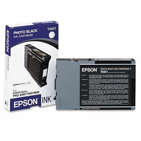 Epson T5431 (T543100) Original Black Ink Cartridge