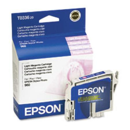 Epson T0336 (T033620) Original Light Magenta Ink Cartridge