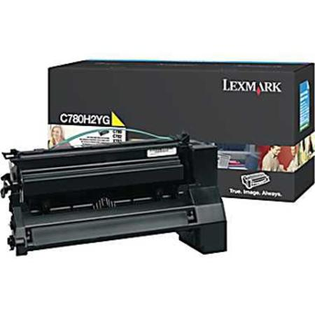 Lexmark C780H2YG Yellow Original High Yield  Laser Toner Cartridge