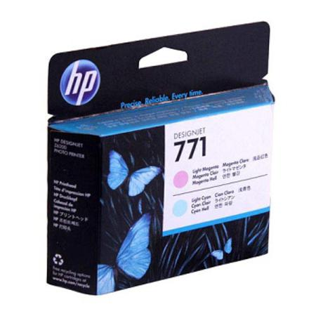 HP 771 (CE019A) Original Light Magenta / Light Cyan Printhead