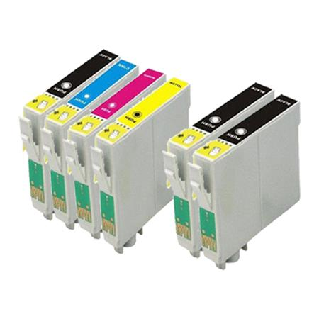 Compatible Multipack Epson T212XL1/T212XL4 Full Set + 2 EXTRA Black Ink Cartridges