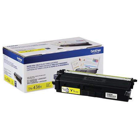 Brother TN436Y Yellow Original Extra High Capacity Toner Cartridge