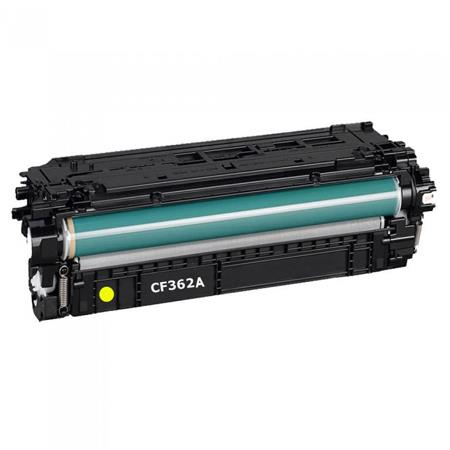 HP 508A Yellow Remanufactured Standard Capacity Toner Cartridge (CF362A)