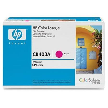 HP Color LaserJet CB403A Original Magenta Toner Cartridge