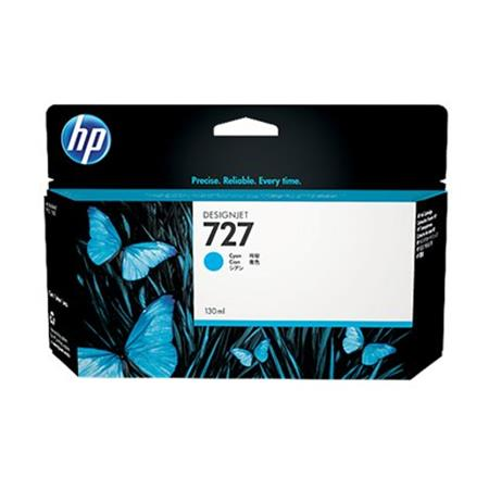 HP 727 Cyan Original High Capacity Ink Cartridge