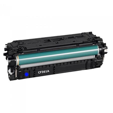 HP 508A Cyan Remanufactured Standard Capacity Toner Cartridge (CF361A)