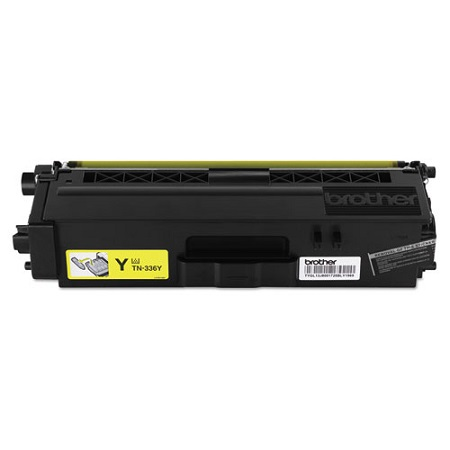 Brother TN336Y Original High Capacity Yellow Toner Cartridge