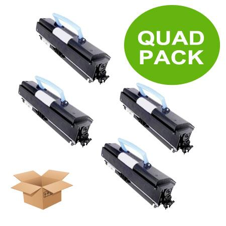 310-8700 Black Remanufactured High Capacity Toners Quad Pack