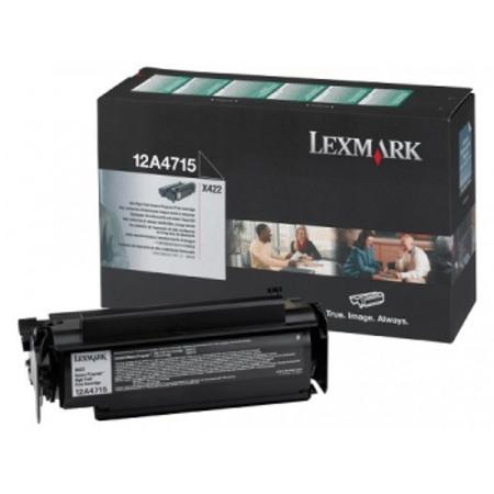 Lexmark 12A4715 Original High Yield Return Program Print Cartridge