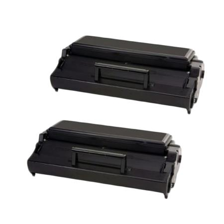 Compatible Twin Pack Black Lexmark 08A0478 Toner Cartridges
