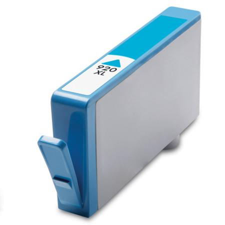 Compatible Cyan HP 920XL High Yield Ink Cartridge (Replaces HP CD972AN)