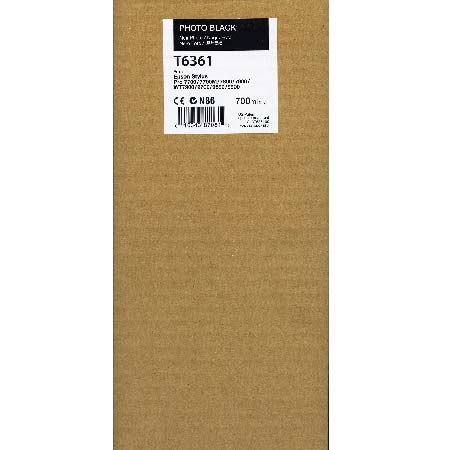 Epson T6361 (T636100) Original  Photo Black Ink Cartridge
