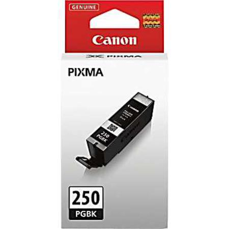 Canon PGI-250 Pigment Black Original Standard Capacity Ink Cartridge