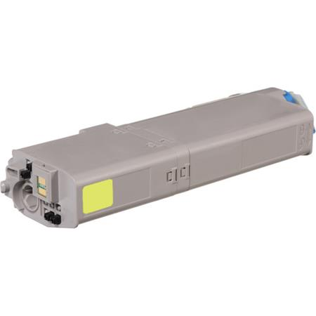 OKI 46490601 Yellow Remanufactured High Capacity Toner Cartridge