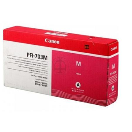 Canon PFI-703M Original Magenta Ink Cartridge