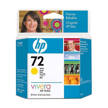 HP 72 (C9400A) Original Yellow Ink Cartridge