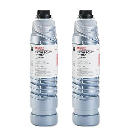 888181 Black Orginal Toner Cartridge Twin Pack