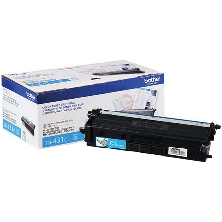 Brother TN431C Cyan Original Standard Capacity Toner Cartridge