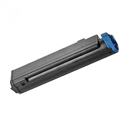 Compatible Black Oki 43979101 Standard Yield Toner Cartridge