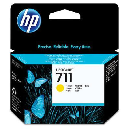 HP 711 Yellow Original Ink Cartridge (29ml)