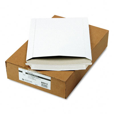 Quality Park Photo/Document Mailer  Redi-Strip  Side Seam  9 x 11 1/2  White  25/box