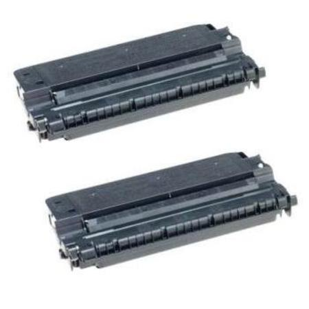 E40 Black Remanufactured Toner Cartridges Twin Pack